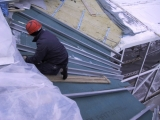 Утепление крыши. Кровельная древесноволокнистая плита ISOPLAAT 25 мм. Защита кровельных конструкций от конденсата.
