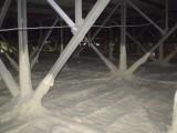Напыляемый жесткий пенополиуретан Утепление ангаров, овощехранилищ, холодильных и морозильных камер