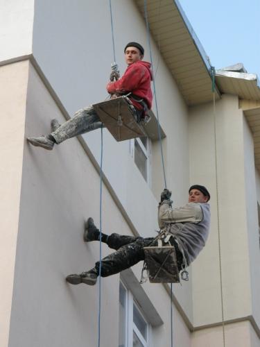 Утеплення зовнішніх стін квартир в висотних будинках