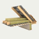 Утеплитель кровельный Роклайт 30 кг/м3, 100 мм, утепление скатных крыш, мансард, перегородок