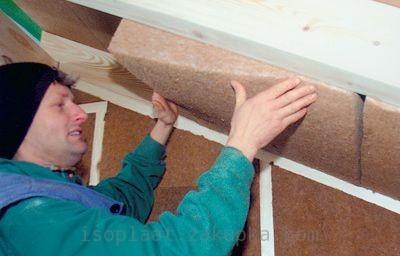 Утеплитель Steicoflex 60 мм, для утепления стен, крыши, пола, потолка.