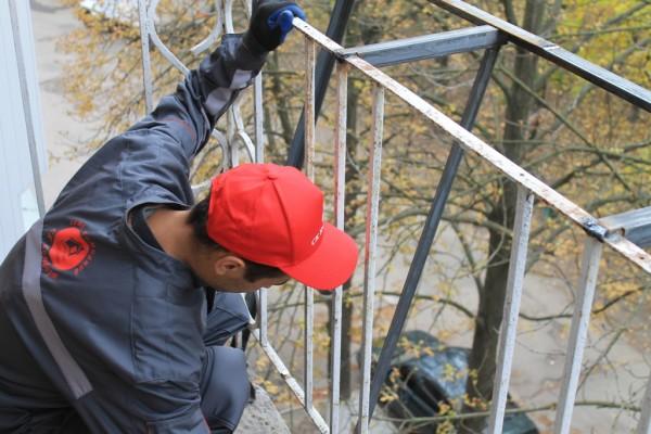 Увеличение балкона в хрущевке цена 600 грн. заказать в киеве.