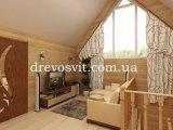 Фото  1 Вагонка деревяна сосна європрофіль 1-го сорту з живим не випадним сучком.Розміри: 80х14 мм. Довжина 4,5м 1972856