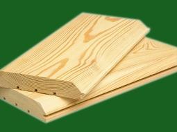 Вагонка деревянная ЛИСТВЕННИЦА 140 мм (сорт А) (длина 1000М - 4000 мм)