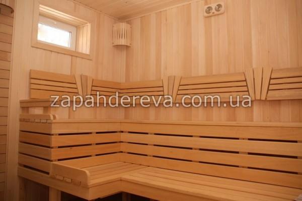 Вагонка для бани и сауны. лежак в баню, трапиковая рейка. Доставка по городу и области