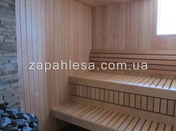 Вагонка из лиственных пород. Ее используют для обшивки стен, пола и потолка бань и саун. Доставка.