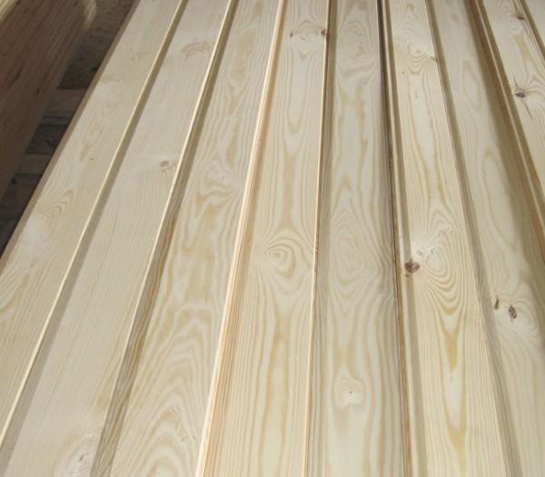Вагонка из сосны: ширина 100 мм. толщина 14 мм. длина 2,3,4 м.