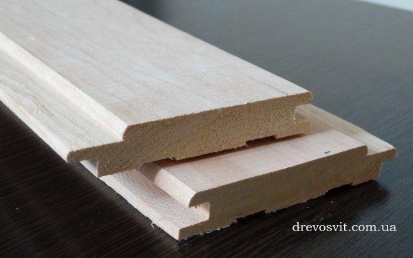 Фото  1 Вагонка деревяна вільха для лазні та сауни. Суха, шліфована, цілісна, екологічно-чиста. Ціни від виробника. Доставка. 1866352