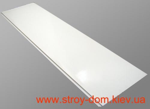 Вагонка пластиковая 0,25х3х0.005м Белая матовая П00128