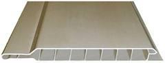 Вагонка пластиковая 8 х 250 х 6000, белая, глянцевая, люкс