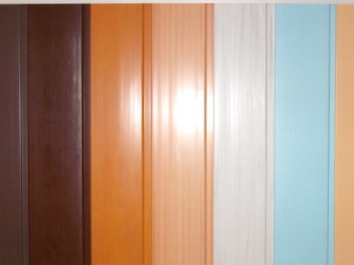Вагонка пластиковая шовная 10 см, коричневая, шоколад, бежевая, салатовая, голубая, бирюзовая, белая. . .