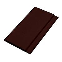 Вагонка пластиковая шовная коричневая, шоколад 100х6000х8;10 мм. для внутренних и наружных работ. Доставка, монтаж.