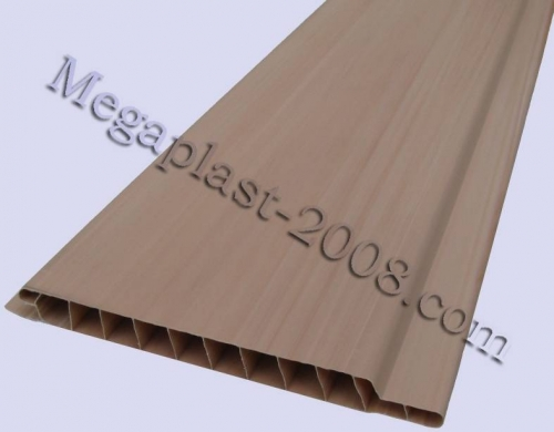 Вагонка пластиковая Вагонка Светлое дерево, Серо-белая, Шоколад, Размер панели: 100х6000х10мм