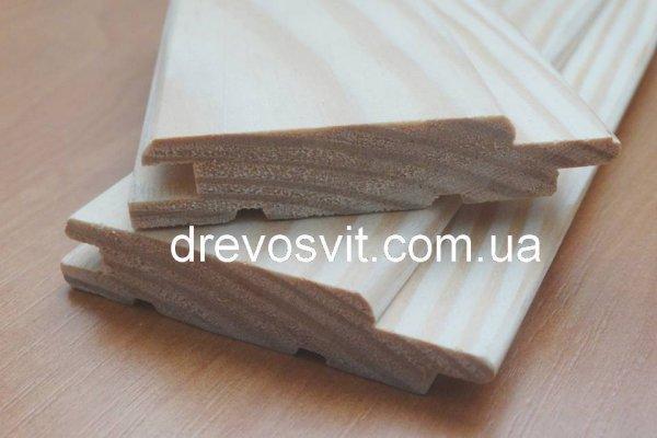 Фото  1 Вагонка дерев'яна сосна. Розміри: 80*14мм, довжина 0,2-0,4м. Суха, шліфована, цілісна, екологічно-чиста. Доставка. 1856396