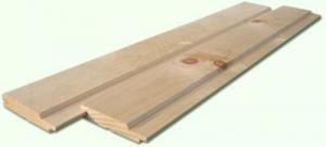 Вагонка сосновая цельная 2 сорт (длина 2,5 - 4 м, ширина 65-85 мм)