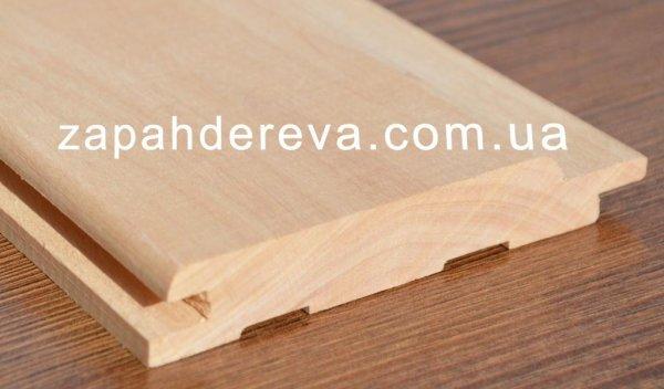 Фото 3 Вагонка: сосна, липа, вільха Славута - ціна виробника 324069