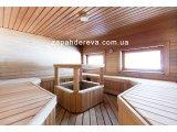 Фото  2 Вагонка для бани, сауны. Ольха светлая(цвет липа ). Сорт 2. Профиль Евро. Бесплатная доставка. 60020