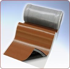 Вакафлекс, лента примыкания. Гладкая поверхность. Армирована алюминиевой сеткой. Произведено в Германии. 280х5000мм.