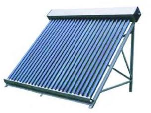 Вакуумный солнечный коллектор Тип: SC-LH3-30 Комплектации: аллюм. эл. крепл. на плоск. крышу, аллюм. рама