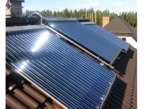 Вакуумный солнечный коллектор в Черновцах super heat pipe