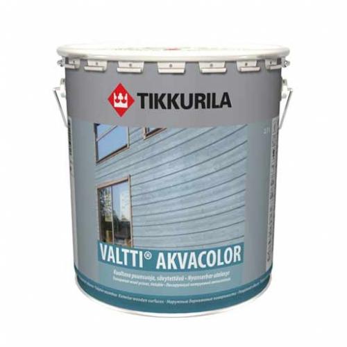 Валтти Акваколор Водоразбавляемый лессирующая формула для защиты древесины на базе алкида из натурального масла.