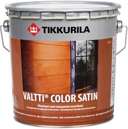 Валтти Колор Сатин Немного желеобразный лессирующий антисептик на базе таллового и льняного масел