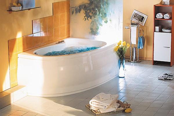 Ванна акриловая POOL SPA NIMFA 160*90