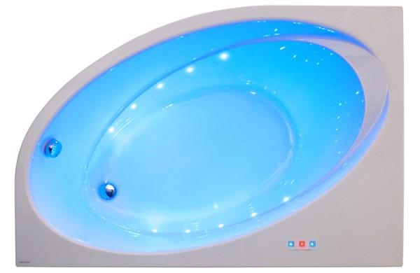 Ванна акриловая POOL SPA ORBITA 140х100 на каркасе