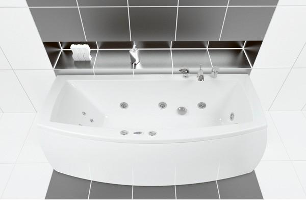 Ванна акриловая POOL SPA Quarzo 180 * 90 каркас