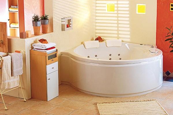 Ванна акриловая POOL SPA ROMA 208x140
