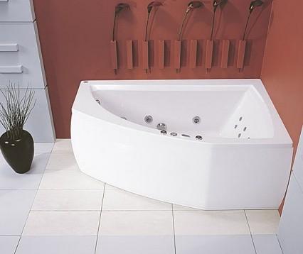 Ванна акриловая POOL SPA AQUAMARINA 175X120