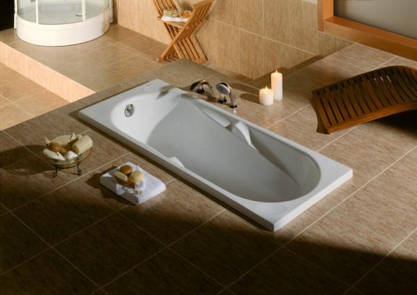 Ванна акриловая POOL SPA Genova 170*75