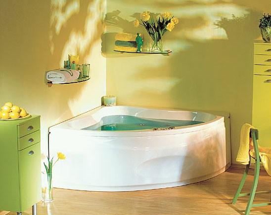 Ванна акриловая POOL SPA KLIO 133х133х43 см