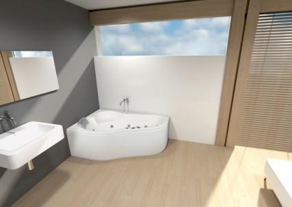 Ванна акриловая POOL SPA LEDA 150х100х42 см, 160х100х42 см