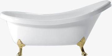Ванна акриловая POOL SPA NOSTALGY 174X82 львиные ноги слив-перелив с пробкой (хром)