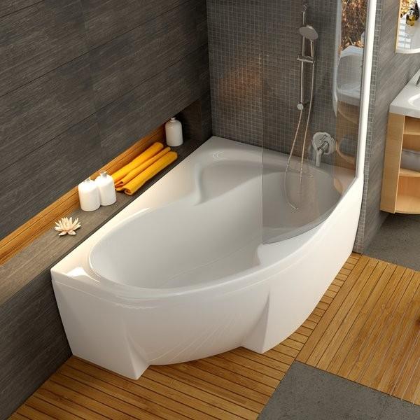 Ванна акриловая Rosa II 150 x 105 см. Безупречные формы ванны и белоснежный цвет делают её неповторимой.
