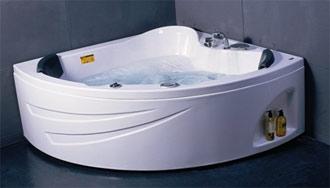 Ванна гидромассажная Apollo SU-1515 (150*150*66,5), угл.