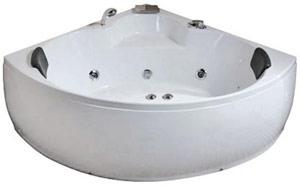 Ванна гидромассажная Iris TLP-651 (150х150х61 см) Размер: 150x150x61 см Двухместная