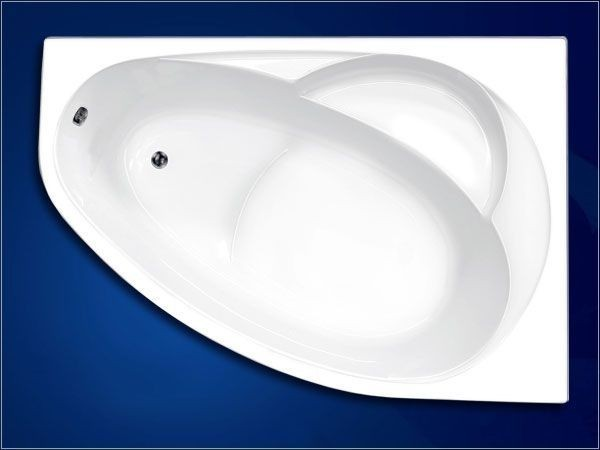 ванна Vagnerplast Flora R 150x100 (VPBA151FLA3PX-01/NO )