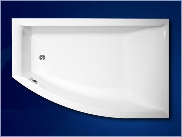 ванна Vagnerplast Veronela offset R 160x105 (VPBA160VEA3PX-01/NO