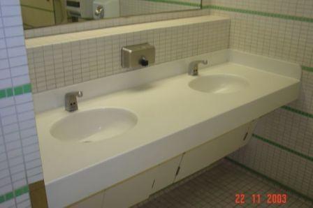 Ванная комната из искуственного камня