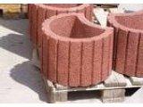 Фото  1 Вазон бетонний К-11 сіра, великий вибір ЗБВ. Доставка в будь-яку точку України. 1745882