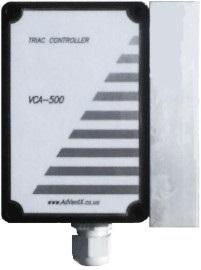 VCA500 Регулятор оборотов однофазного вентилятора, с сигналом управления 0. .10В