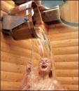 Ведро водопад, ведро для бани, экстремальный душ, ведро для сауны. Ведро для обливания после бани.