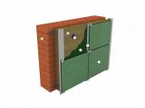 Фото  1 Утеплитель фасадный ИЗОВАТ 80 кг/м3, 50 мм, утепление наружных стен под вентилируемые фасады 2051440