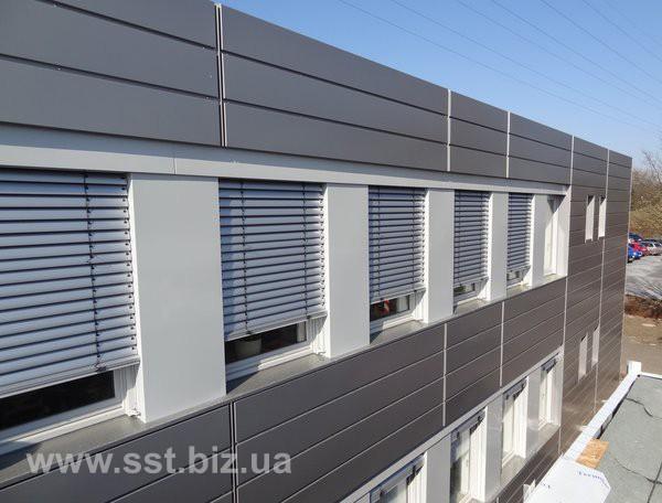 Вентелируемый фасад Alufas (пр-во Украина)