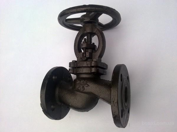 Вентиль клапан фланцевый 15кч16нж Ду50мм ГОСТ 18163-72 чугунный