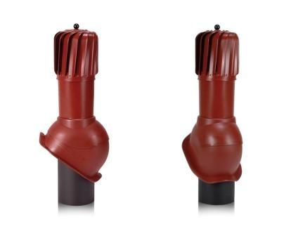 Вентиляционные выходы Perfecta с механическим ветилятором для кровель из металлочерепицы 110 мм