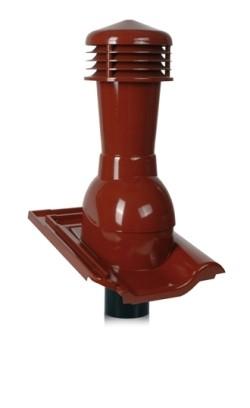 Вентиляционные выходы Tile для кровель из керамической черепицы 110 мм