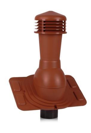 Вентиляционные выходы Universal для любого типа кровельных материалов 110 мм